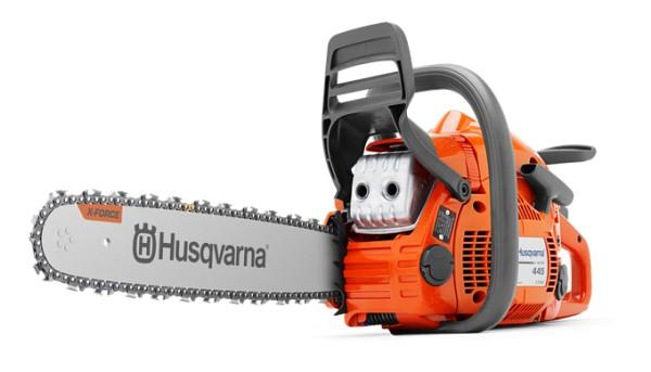 """Motorsägen HUSQVARNA 445e II TrioBrake™ (15"""")"""