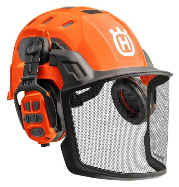 HUSQVARNA Technical Helm mit X-COM R Gehörschutz